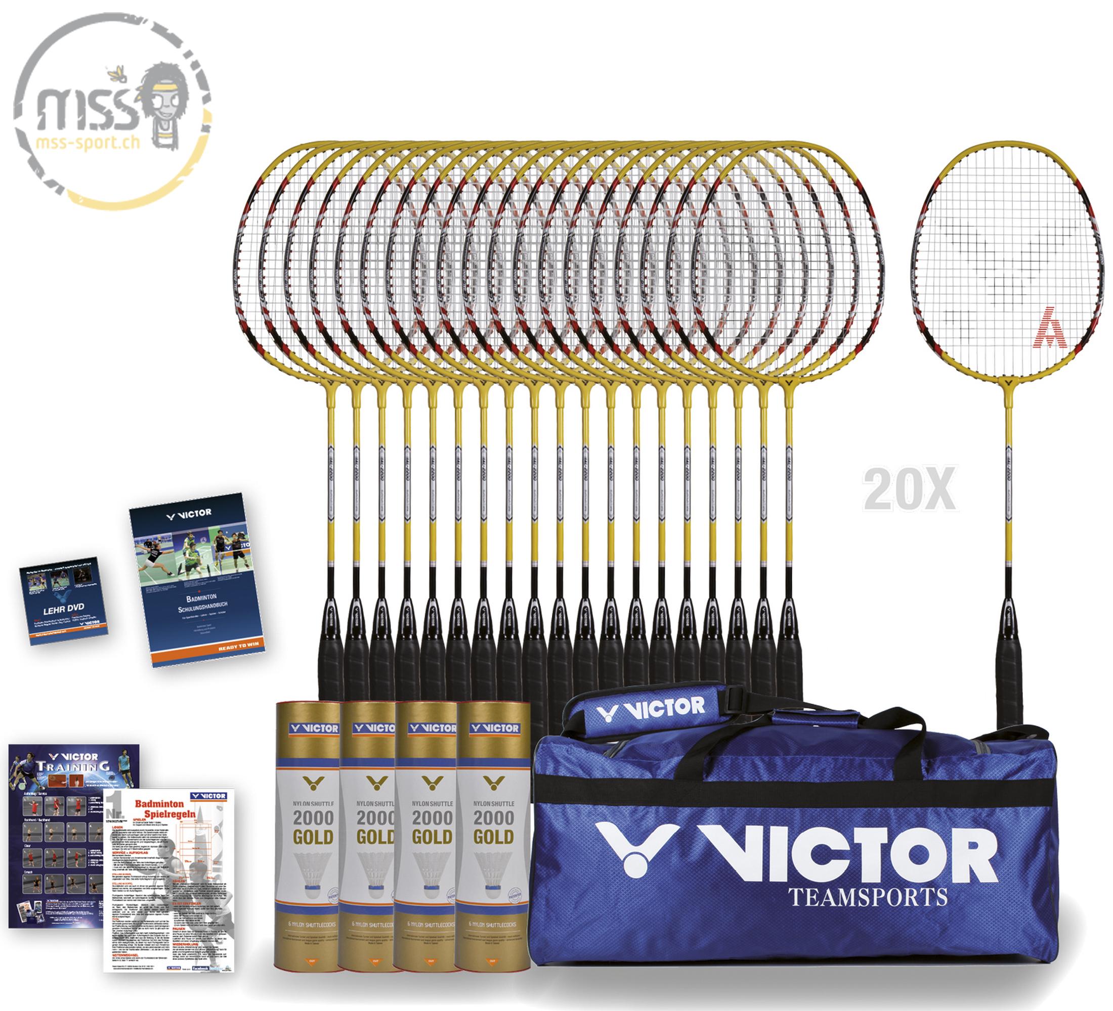 Schulsport Victor AL-2200D Paket