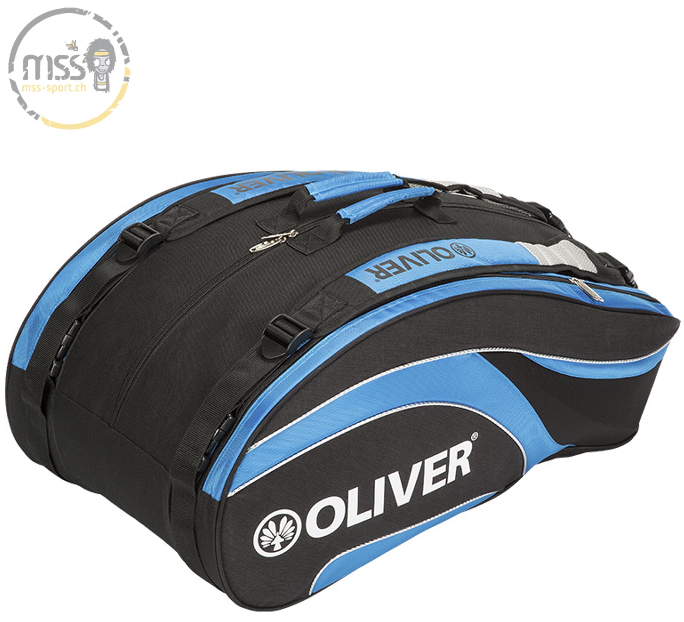Oliver Triplebag XL black/blue
