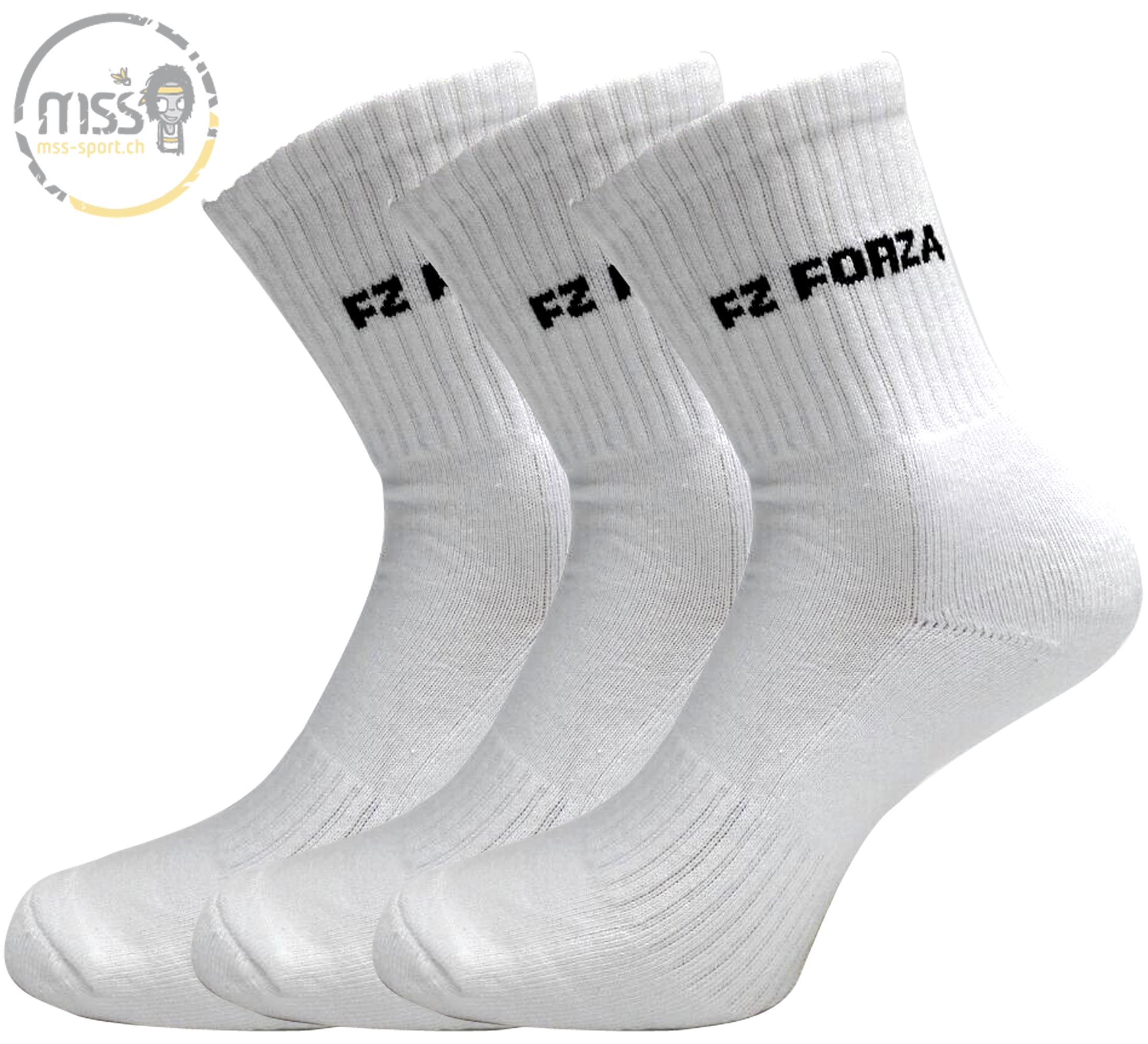 Forza Sock Comfort long white 3pack