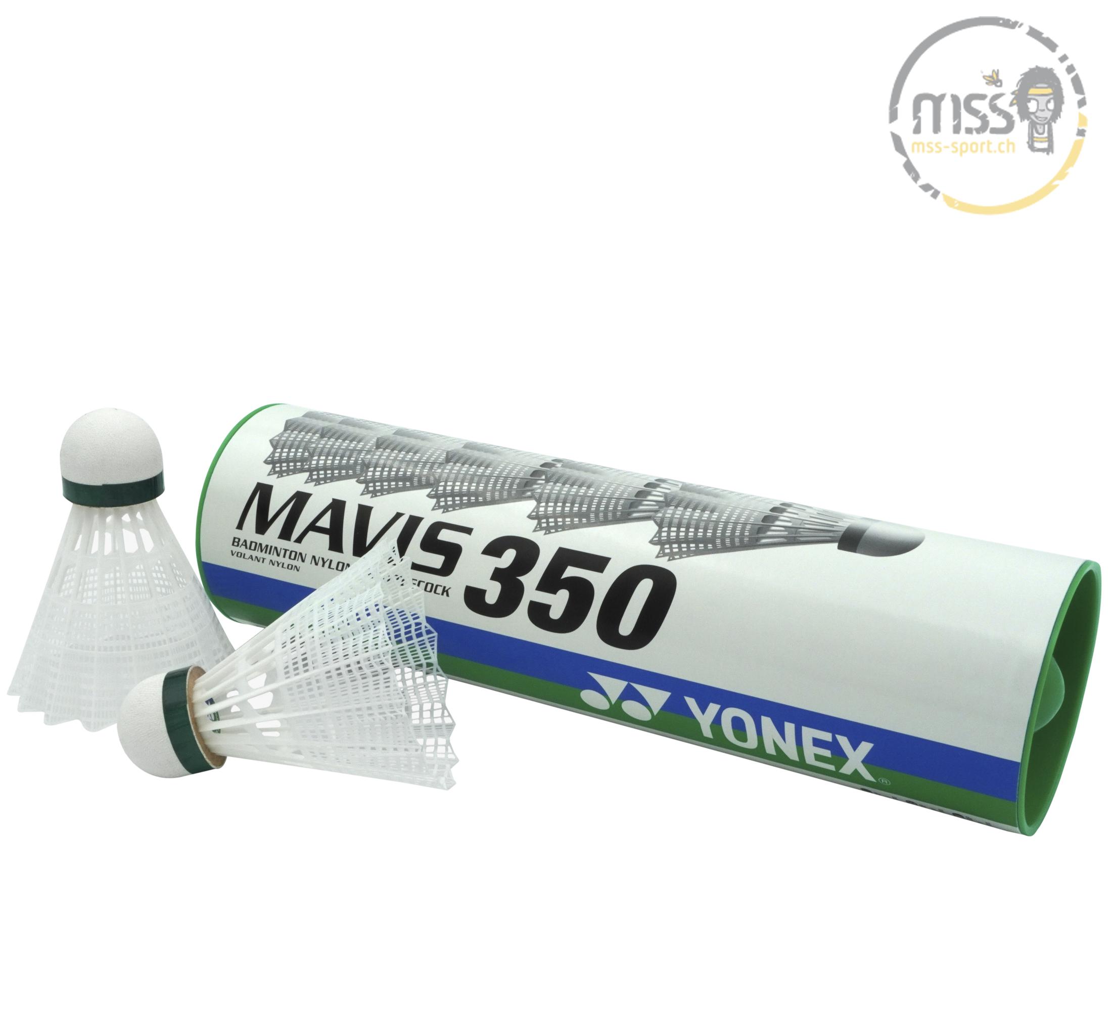 Yonex Mavis 350, white/green