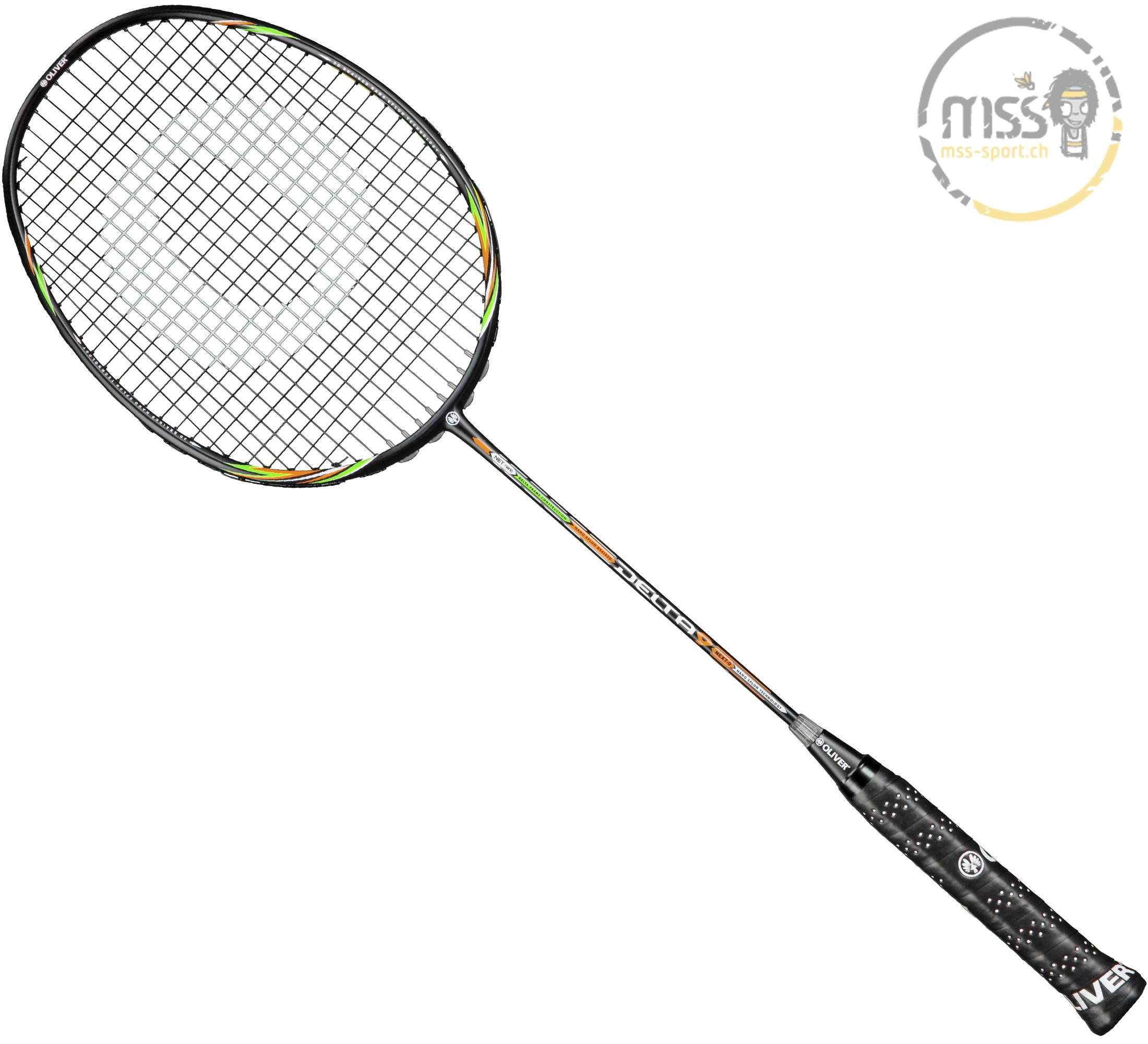 Kombiniere und profitiere: Badminton Oliver Delta 9