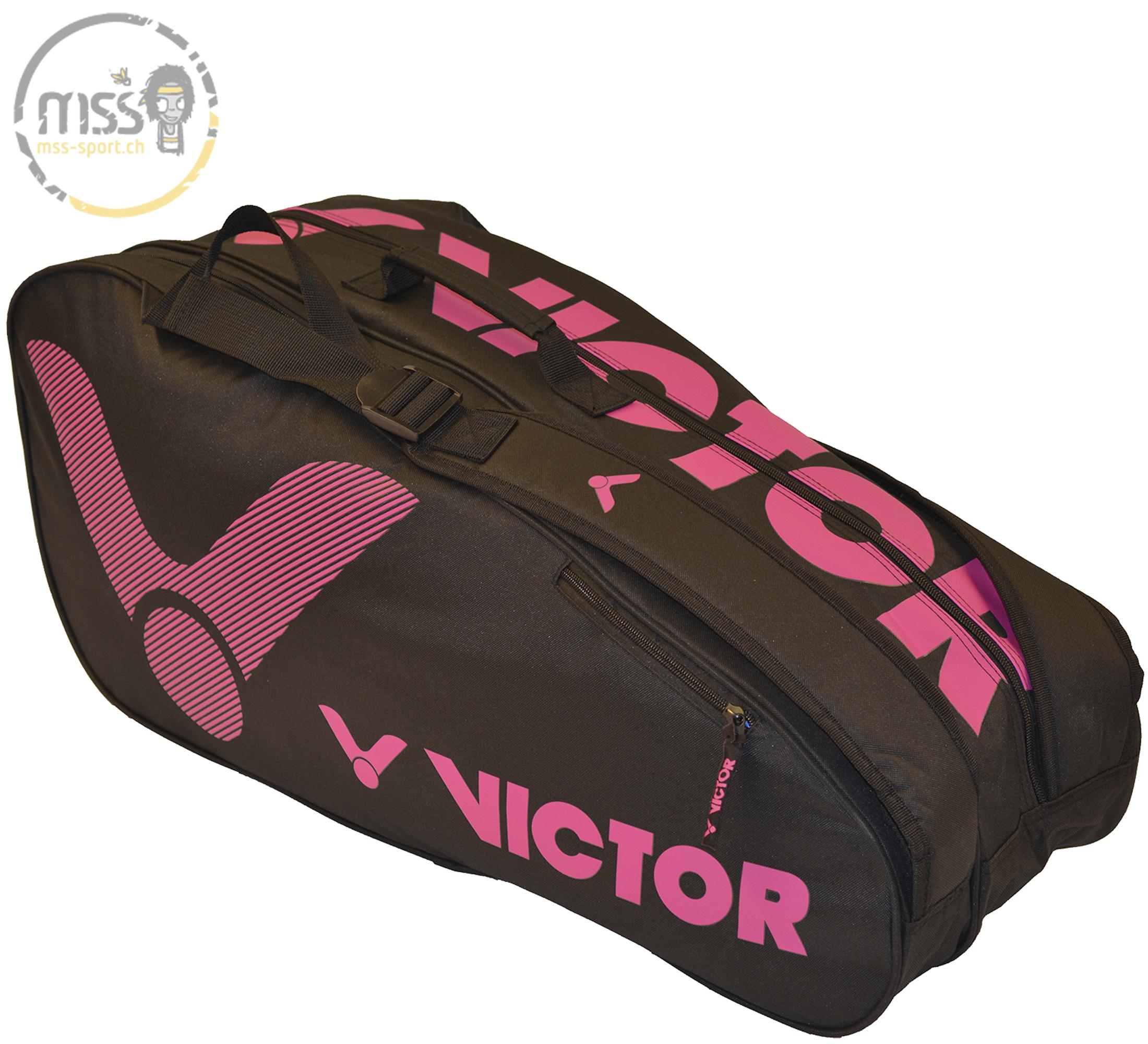 Victor Doublethermobag black/purple