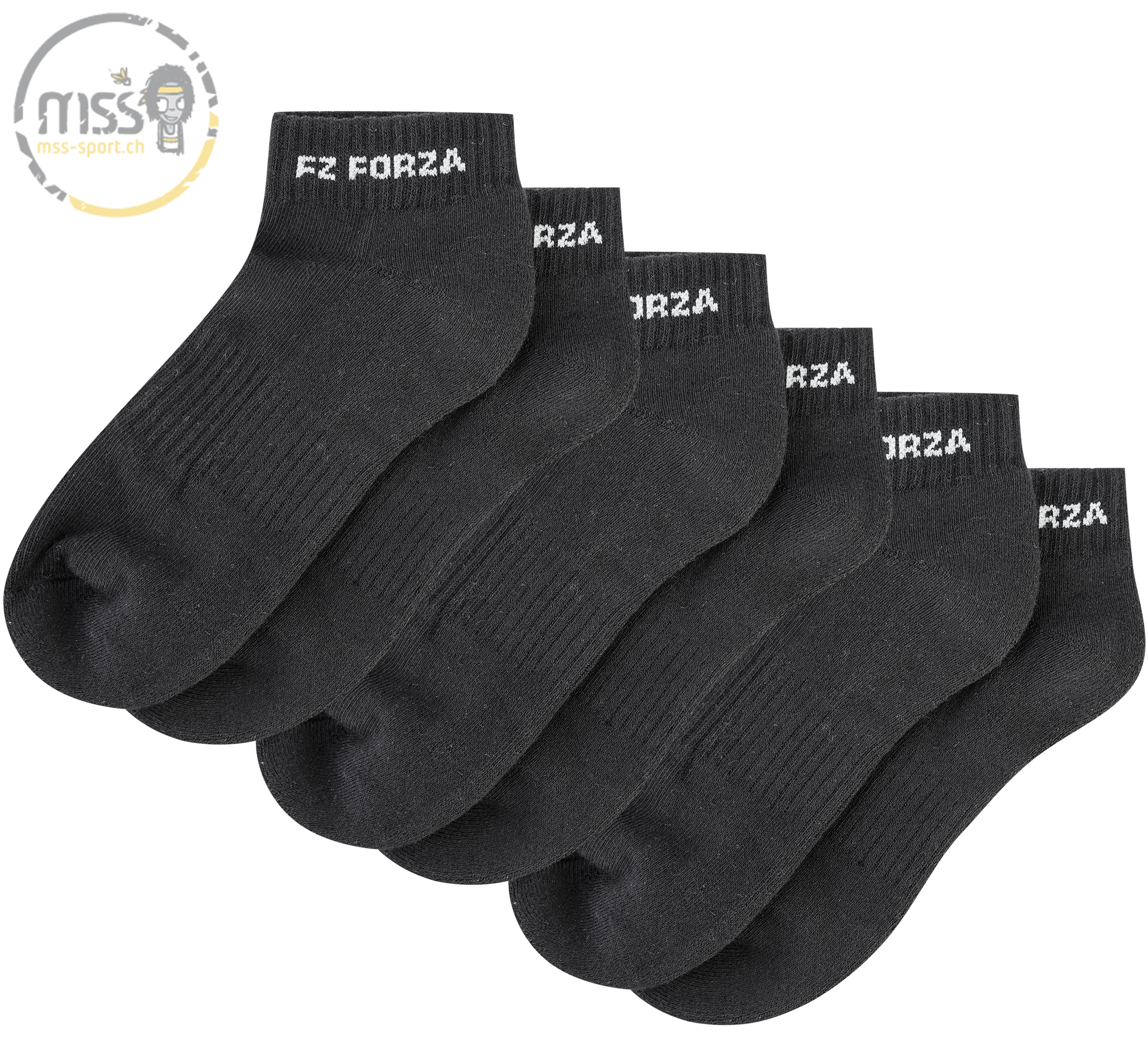 Forza Sock Comfort long black 3pack