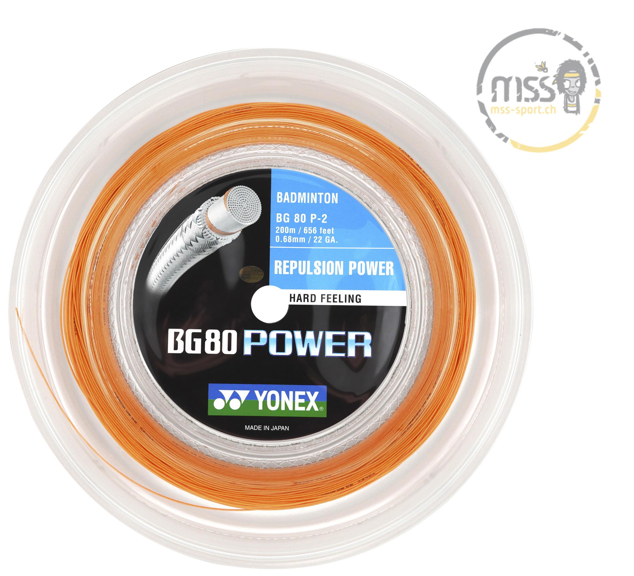 Yonex BG 80 Power orange