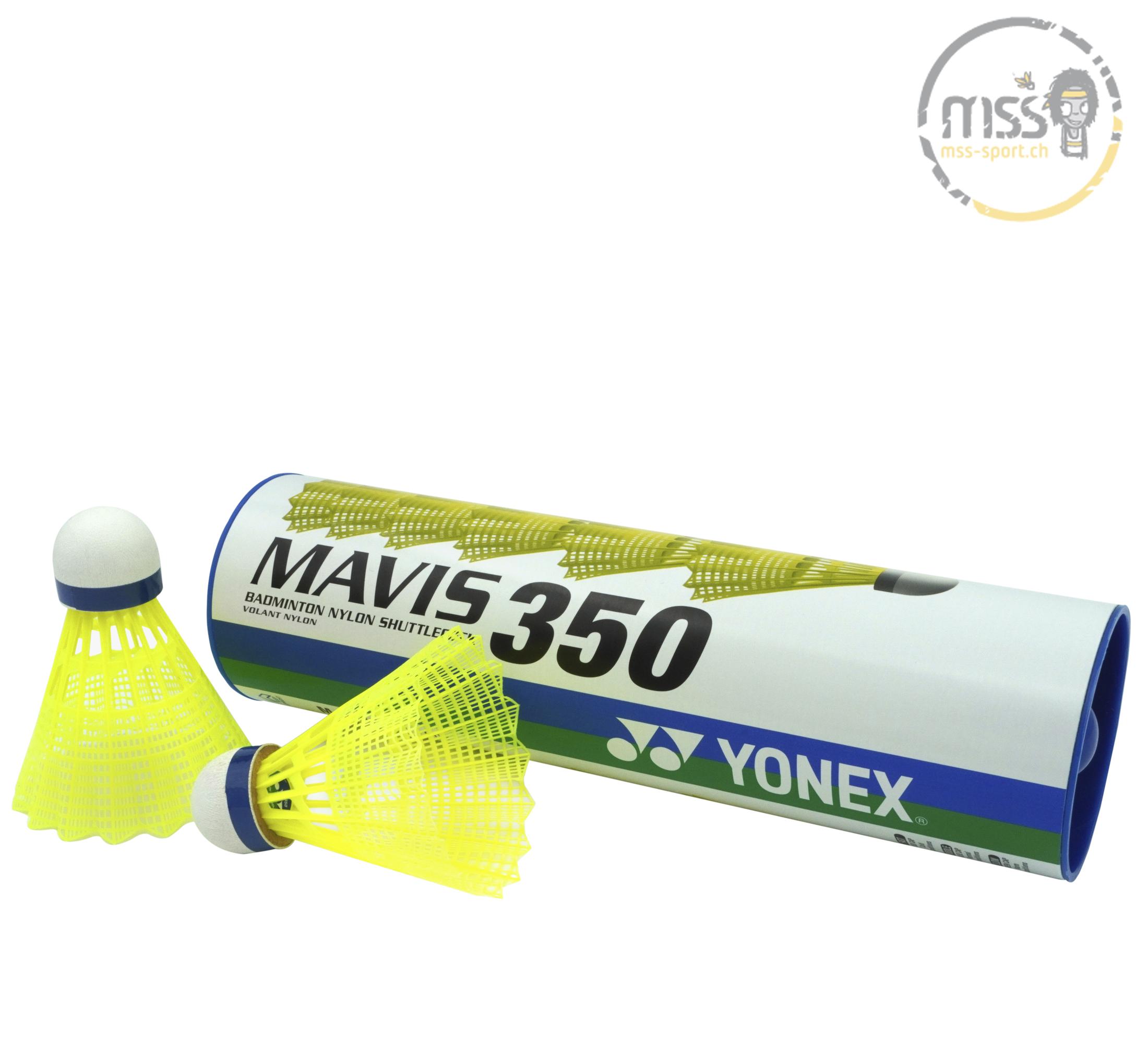 Yonex Mavis 350, yellow/blue