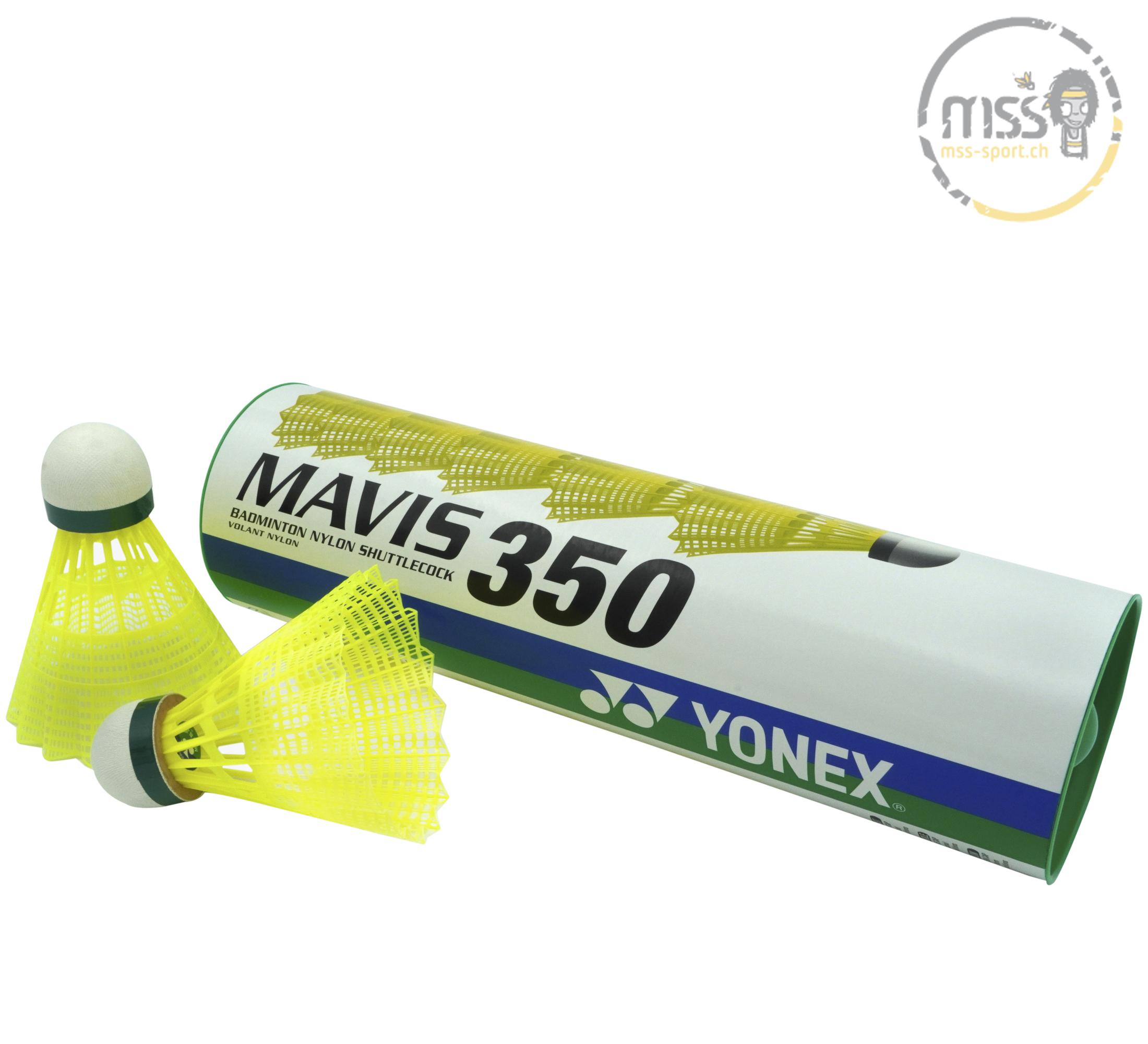 Yonex Mavis 350, yellow/green