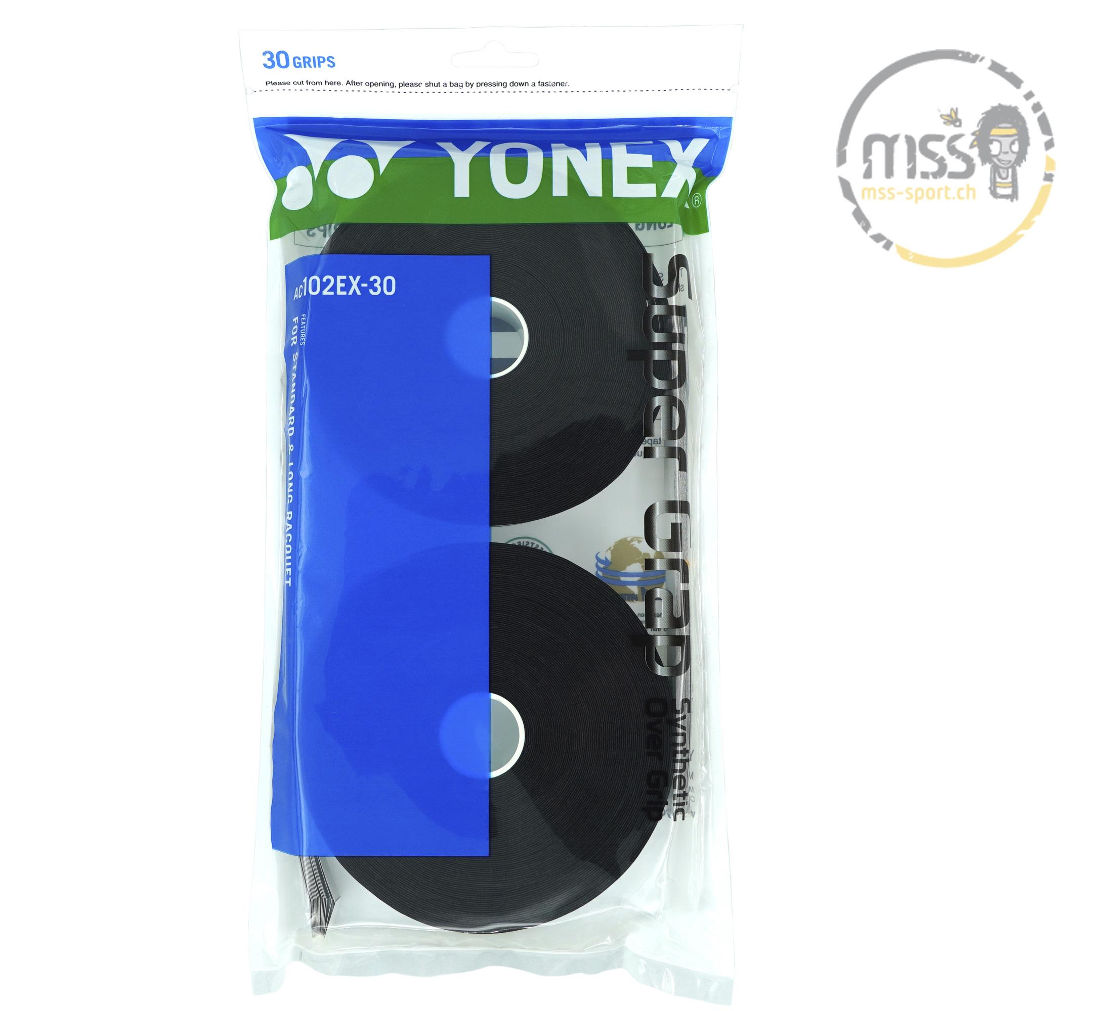 Yonex Super Grap AC102EX-30 black 30er
