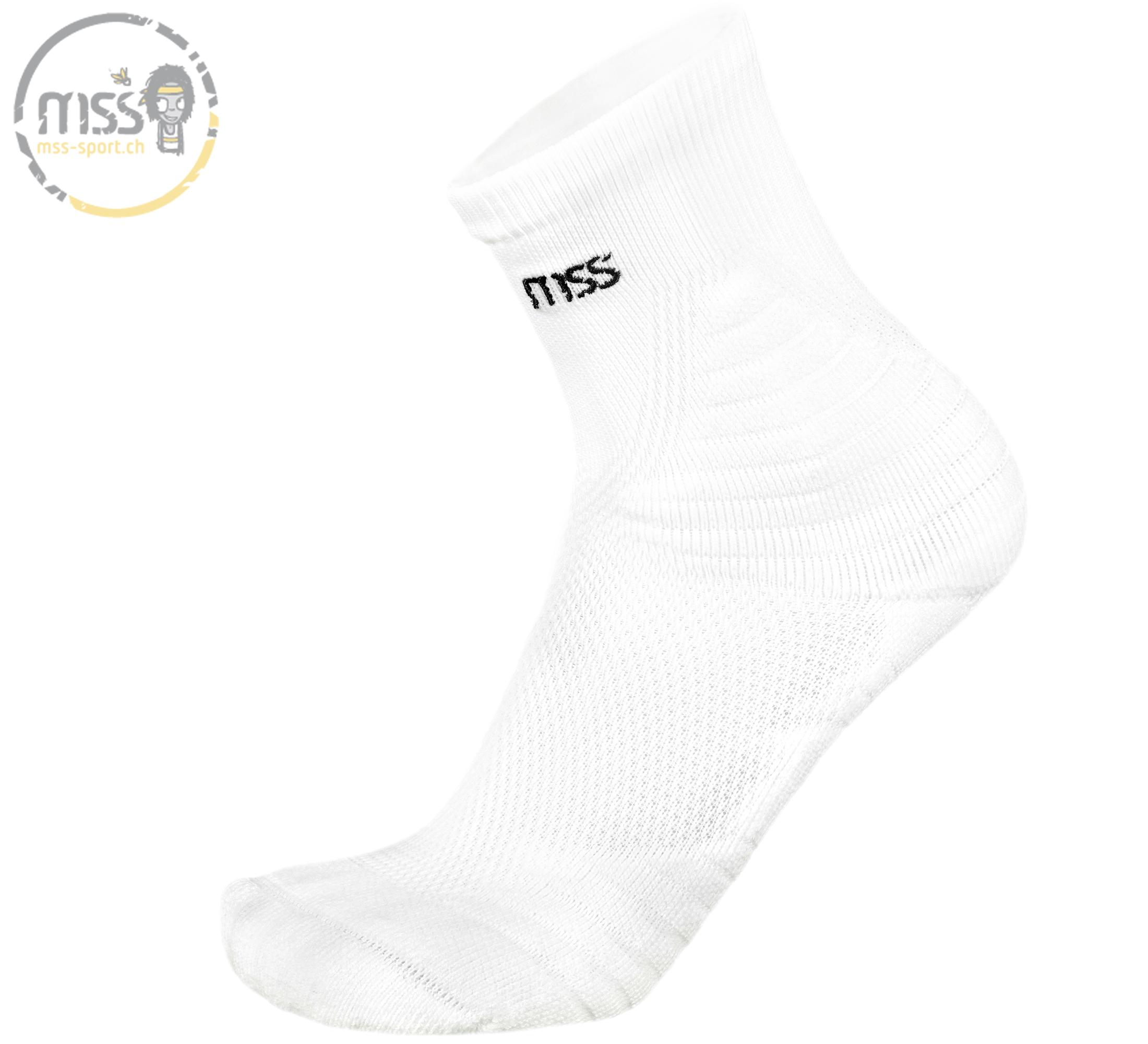 mss-socks Smash 5500 mid white